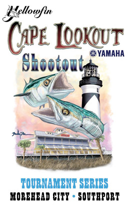 Cape Lookout Shootout King Mackerel Tournament Series logo